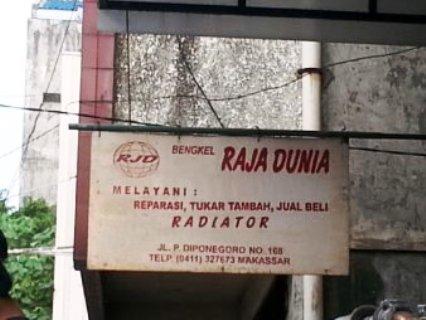 Bengkel Radiator di Makassar - Service Radiator di Makassar - Bengkel Raja Dunia