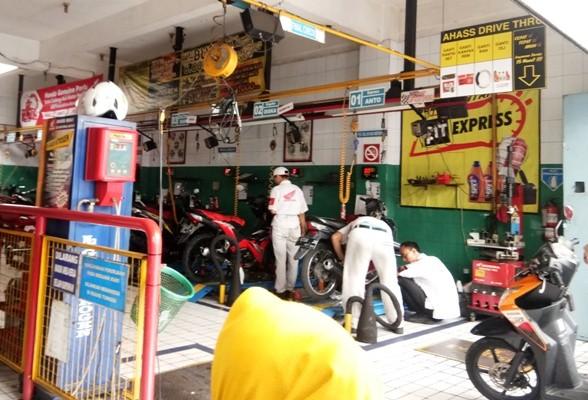 Daftar Bengkel Sepeda Motor di Bandung - Ahass Sampurna Motor
