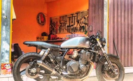 Daftar Bengkel Sepeda Motor di Banjarmasin - BANJARMACHINE Custom Motorcycle